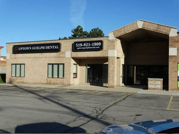 outside of Uptown Guelph Dental in Guelph ON
